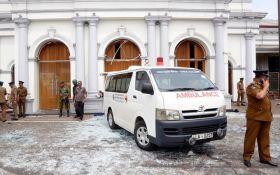 Серія терактів у Шрі-Ланці. Сотні загиблих, включаючи іноземців