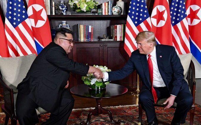 Трамп похвастался «любовными посланиями» отКим Чен Ына
