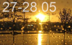 Прогноз погоди на вихідні дні в Україні - 27-28 травня