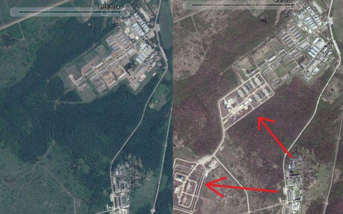 У мережі з'явилося фото бази, де військових Путіна готують їхати на Донбас і в Сирію