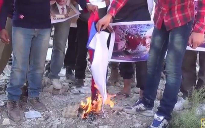 Сирійці послали вогняний привіт Путіну: з'явилося відео