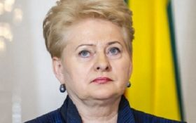 В Украину едет президент Литвы Даля Грибаускайте