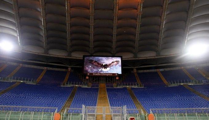 Лацио сыграет против Кальяри с частично закрытыми трибунами