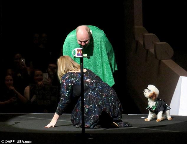 Популярна співачка підкорила зал вушками Мінні Маус: опубліковані фото (2)