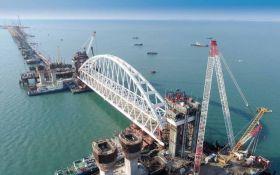 В Украине рассказали, что может остановить строительство Керченского моста в Крым