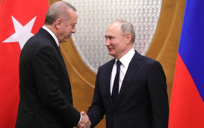 Турция не отступит - Эрдоган обратился к Путину