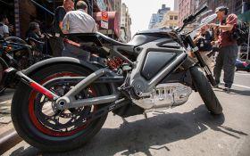 Harley Davidson анонсировал выпуск электромотоциклов