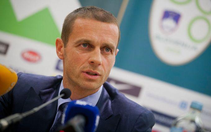 Обрано нового президента УЄФА
