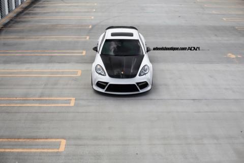 Porsche Panamera від Mansory на дисках ADV.1 Wheels (12 фото) (3)