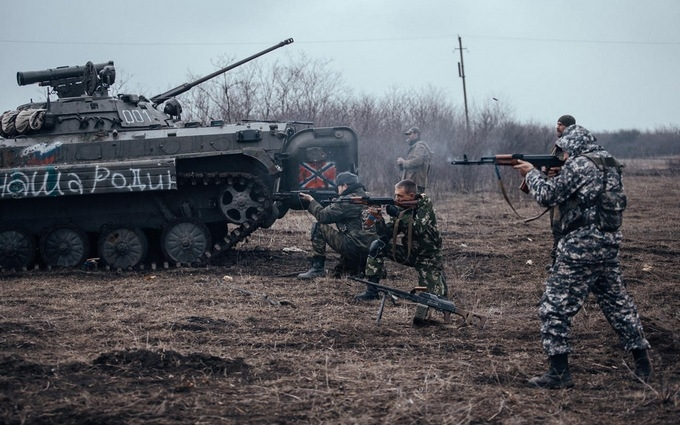 Бойовики ДНР показали, як воюють під Донецьком: опубліковано відео