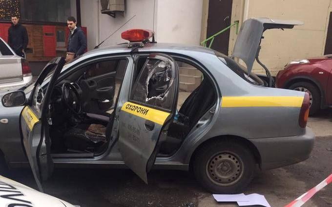 Нападение на инкасаторов в Киеве: появились новые фото и видео с места события