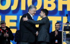 Стало известно, сколько россиян смотрело дебаты между Порошенко и Зеленским