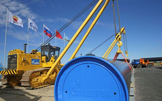 Транзит газа из России через Украину значительно снизился