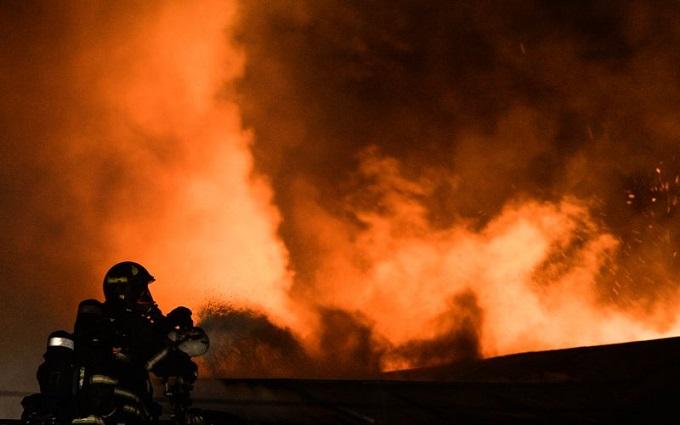 В центре Москвы горел монастырь: опубликовано видео