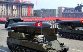 В КНДР провели очередной запуск ракеты