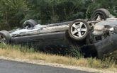 Президент Молдовы с семьей попал в ДТП: опубликованы фото и видео с места аварии
