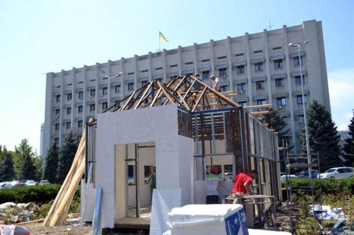 Саакашвілі почав будувати в Одесі
