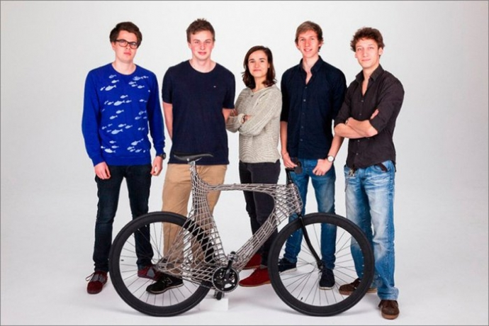Студенты из Нидерландов создали велосипед с помощью 3D-печати (фото) (9)