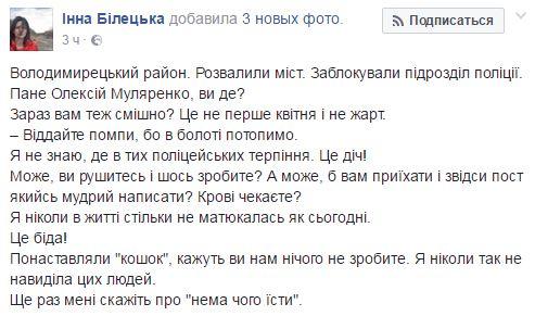 Копатели янтаря заблокировали полицию на Волыни: появились фото (1)