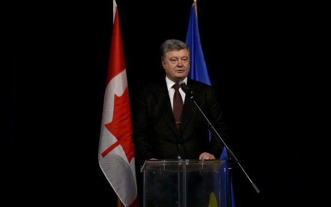 Порошенко розповів про сценарій введення миротворців ООН на Донбас