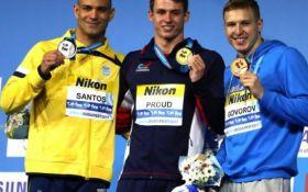 Первая медаль Украины, уверенный триумф фаворитов. Итоги второго дня чемпионата мира по плаванию