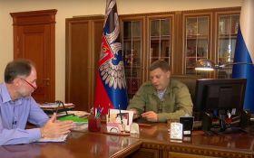 У ватажка ДНР помітили дивну звичку: опубліковано фото