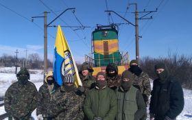 Учасники блокади на Донбасі розбурхали мережу заявою