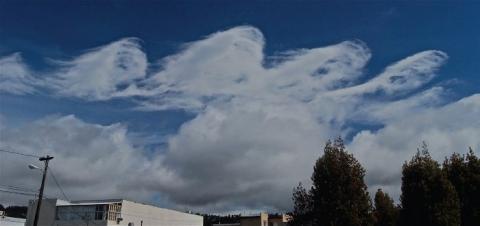 Волноподобные облака Кельвина-Гельмгольца (17 фото) (7)
