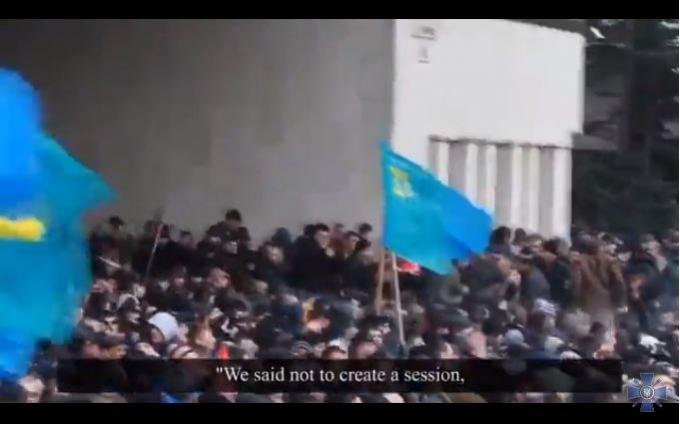 Гучний фільм про те, як Путін захопив Крим, викладений в мережу: опубліковано відео