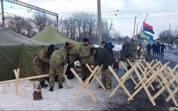Блокада Донбасса: вЛуганской области полицейские отыскали ублокадников арсенал взрывчатки