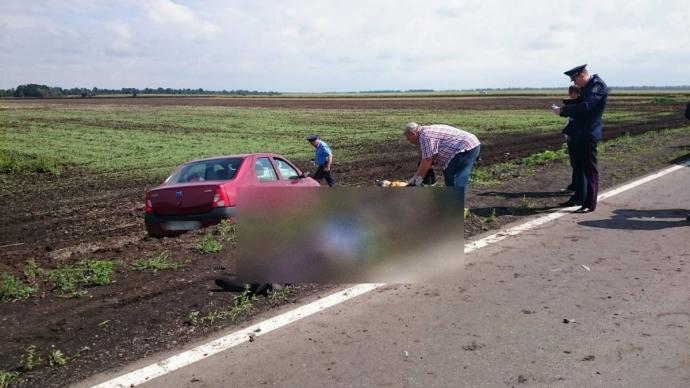 У страшній ДТП на Харківщині загинули дорожні робітники: з'явилися фото (1)