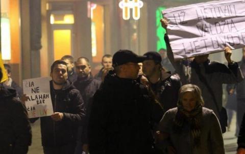 У Литві протестували проти прийому біженців (1)