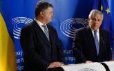 Порошенко призвал главу Европарламента не допускать поездок депутатов в оккупированный Крым и Донбасс