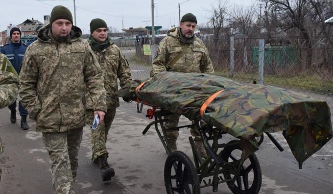 """Украина передала """"ЛНР"""" тела погибших боевиков: опубликованы фото (1)"""