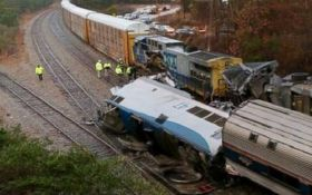 У США зіткнулися потяги, більше сотні потерпілих
