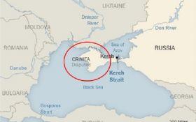 New York Times опубликовал карту, на которой оккупированный Крым обозначили как Россию