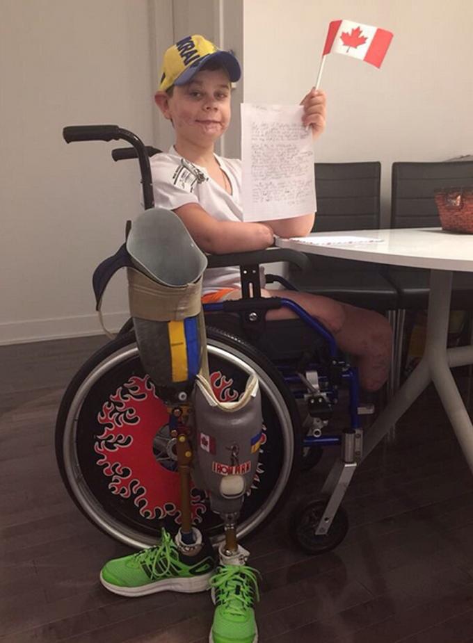 Прем'єру Канади в Києві передали зворушливий лист від хлопчика Колі: опубліковано фото (1)