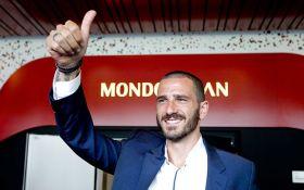 Милан подписал контракт с Бонуччи