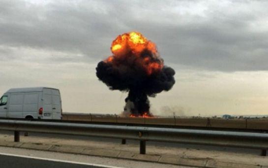В Іспанії сталася авіакатастрофа: опубліковано відео