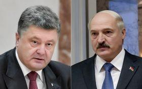 Порошенко созвонился с Лукашенко после громких обвинений в адрес Украины