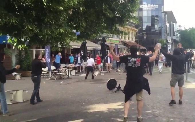 У мережі з'явилося шокуюче відео свавілля росіян на Євро-2016
