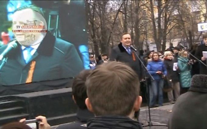 У мережі показали відео з соратниками Єфремова, які здавали Луганськ Росії