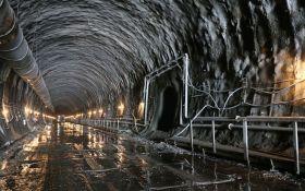 В Украине открыли стратегический Бескидский тоннель: опубликовано видео