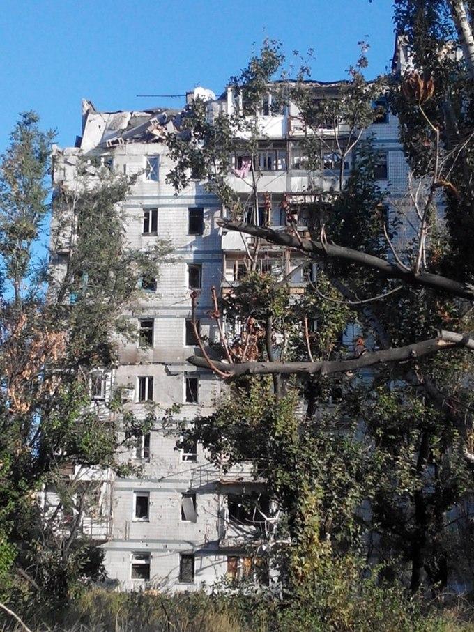 """""""Русский мир"""" в Донецке: опубликованы шокирующие фото из разрушенного города (4)"""