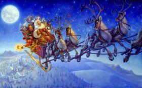 Санта-Клаус облетел весь мир и доставил миллиарды подарков: опубликовано видео