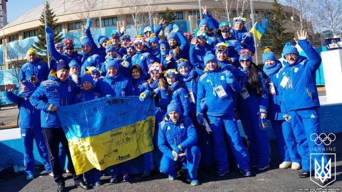 Названа сума фінансування українських атлетів на Ігри в Пхенчхані
