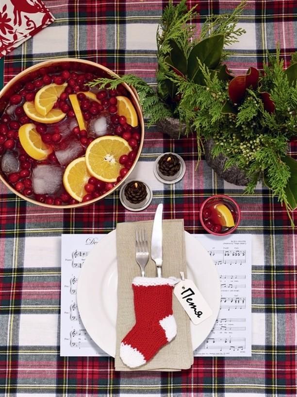 Скоро Новый год: как красиво сервировать праздничный стол (2)