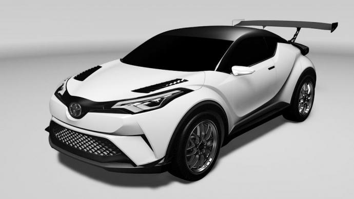 Toyota виставить на «24 години Нюрбургрінга» гоночний кросовер