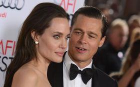 """Брэд Питт """"покончил"""" с Анджелиной Джоли"""
