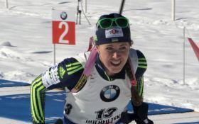 Украинская биатлонистка ворвалась в топ-10 Кубка мира